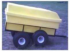 Off hiway vehicle OHV,ATV tub trailer.