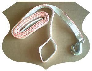 ATV winch straps.