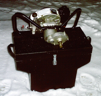 Ice Auger Motor Case.