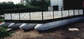 Make your own floating platform.
