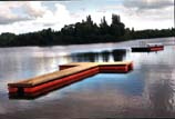 Great for swimming docks and boat docks